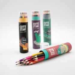 Lápices de Colores en Tubo
