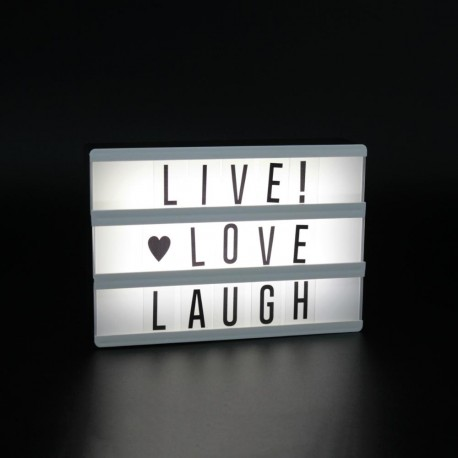 Cartel Luminoso Light Up Mini