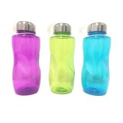 Botella Deportiva de Plástico en Colores 2 Modelos