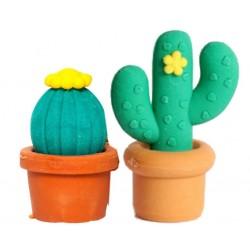 Goma de Borrar Cactus Pack x 2
