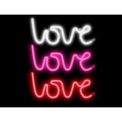 Luz/Lámpara Decorativa Neon con forma de Palabra Love