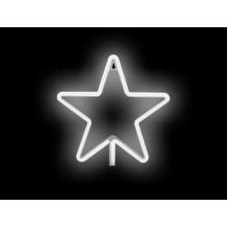 Luz/Lámpara Decorativa Neon con forma de Estrella