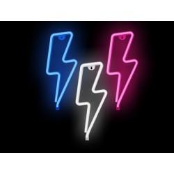Luz/Lámpara Decorativa Neon con forma de Rayo