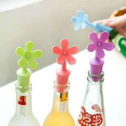 Tapa Botellas Flor pack por 6 Unidades