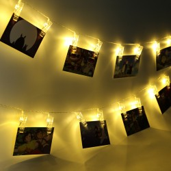 Guirnalda Luminosa Led con Broches