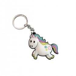 Llavero Unicornio Goma