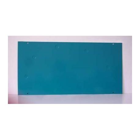 Chapa/Pizarra/Portarretrato 20 x 40 cm con Pata e Imán