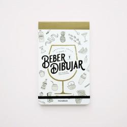 Cuaderno/Libro Monoblock Beber y Dibujar