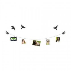 Portarretrato Display Photoclicp Birdie con Cable de acero