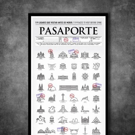 Lámina Pasaporte para Intervenir