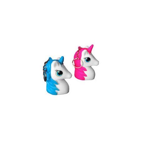 Llavero Unicornio Squishy