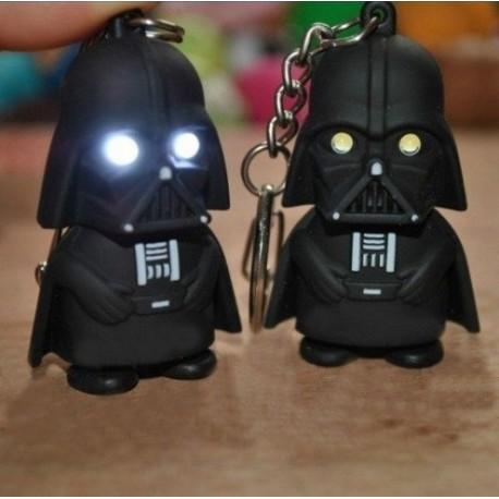 Llavero Plástico con Luz y Sonido Darth Vader