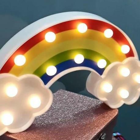 Luz/Lámpara Decorativa con forma de Arco Iris