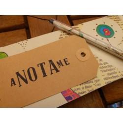 Libreta Anotame Artesanal
