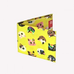 Billetera Monoblock de Papel Tyvek con Diseños de Autor