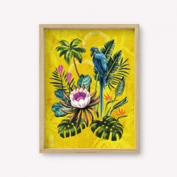 Lámina Wall Art Monoblock con Diseños de Autor 14 x 34 cm