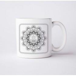 Taza con Diseños de Mandalas
